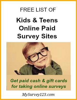 Take surveys for cash