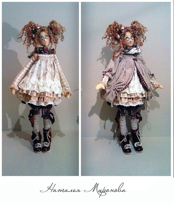 Куклы натальи мироновой выкройка