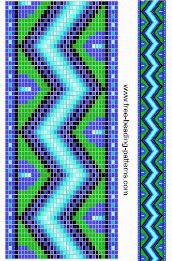 Браслеты вышивка из бисера схемы