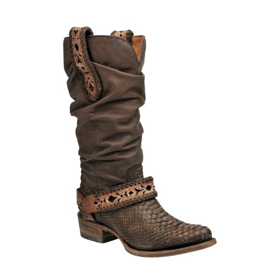 botas cuadra para mujer