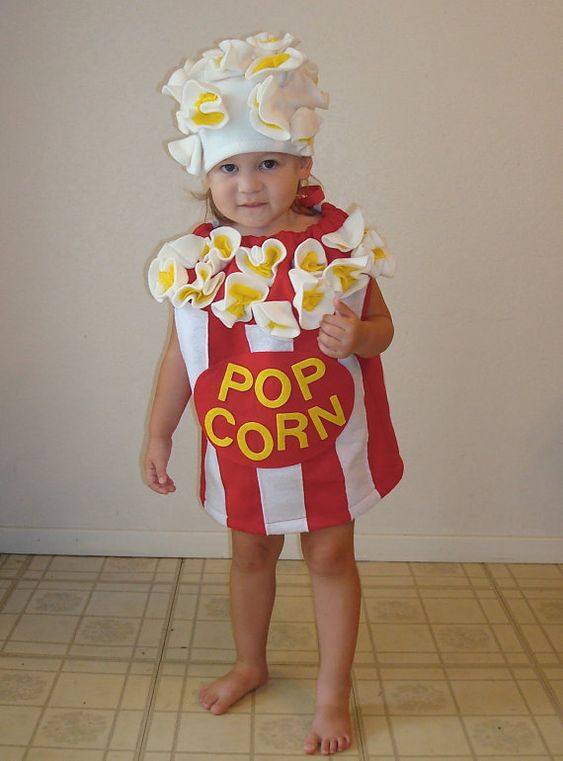 How to Make a Popcorn Baby Costume pics