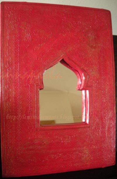 Miroir marocain en cartonnage tutoriel gratuit diy for Miroir marocain