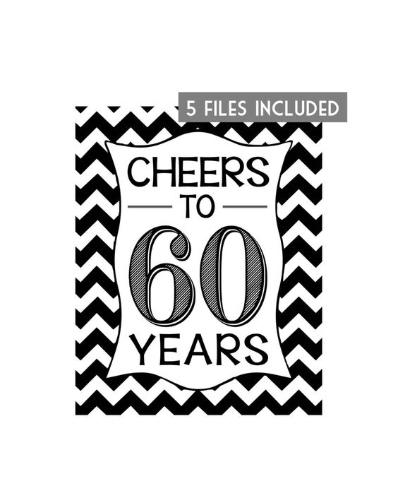 Printable 60th Birthday Signs - C # ile Web\u0027 e Hükmedin!