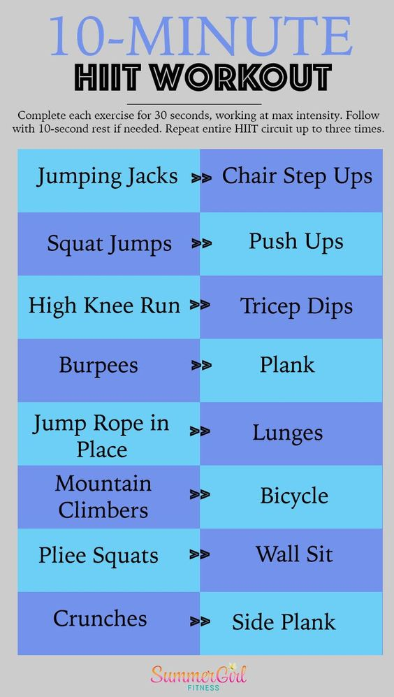 Try a High-Intensity Exercise Routine