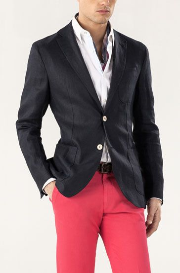 Red and white Massimo dutti