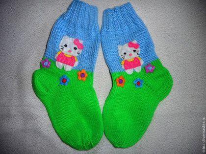 Вязание для девочек носки