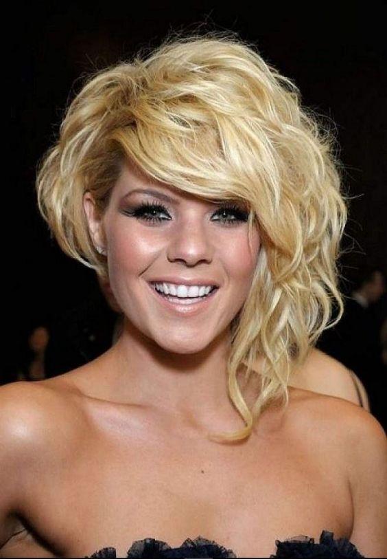Причёски ассиметричные средние волосы