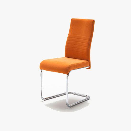 Contemporary stylish jonas chair in orangechairs are in