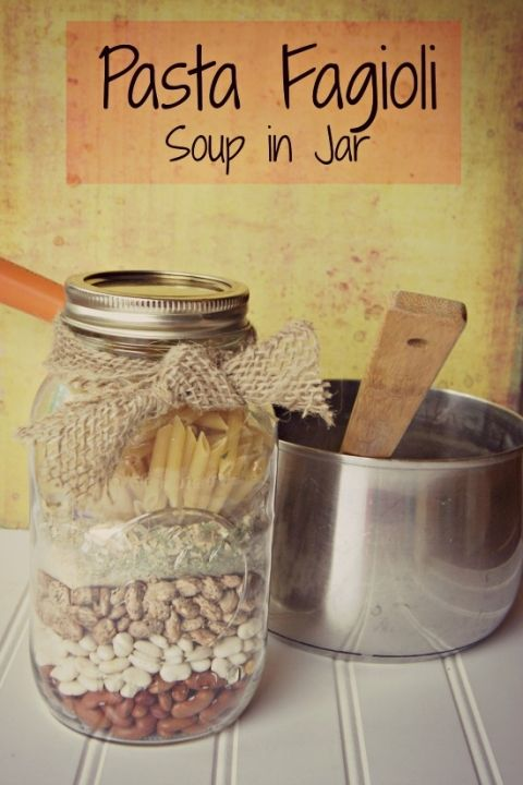 Pasta Fagioli Homemade Soup Mix - Little House Living