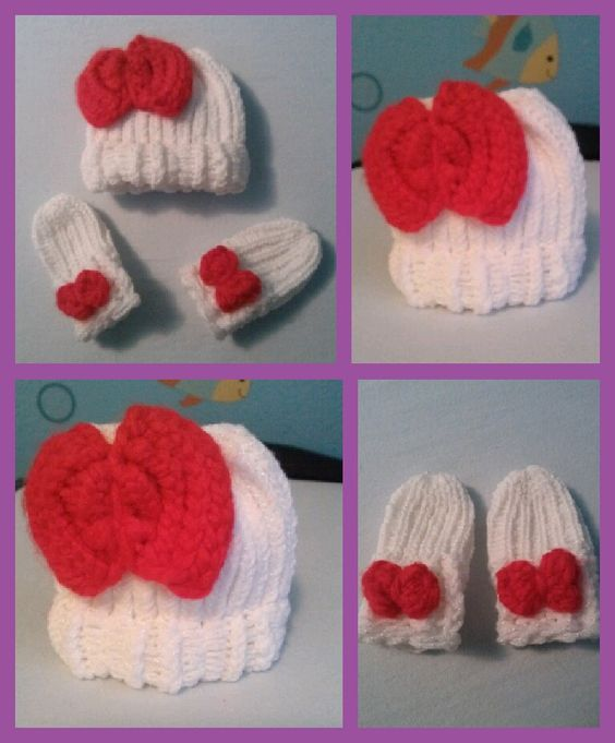 DIY Beanie And Mittens Without Knitting advise