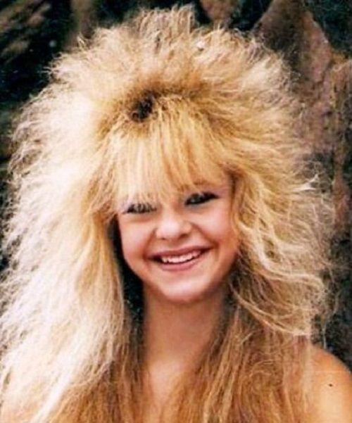 1980s women hair