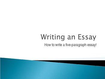 essay presentation powerpoint