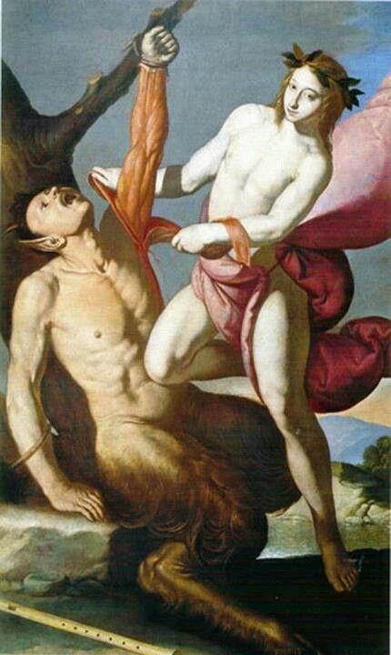 Apolo e Marsias