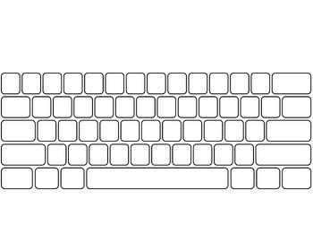 Printables Blank Keyboard Template Printable blank keyboard worksheet printable 2017 calendar computer template pin keyboard