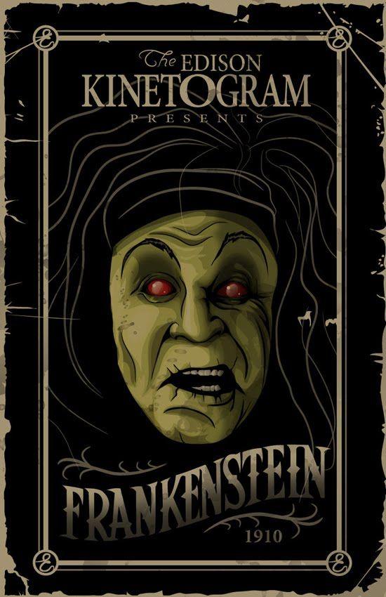 [Cine Mudo] Frankenstein (1910) (VOSE) [MEGA]