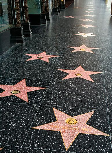 With approximately 24 star ceremonies annually broadcast around the world, the constant reinforcement provided to the public has made the Walk of Fame a top visitor attraction. Description from spyhollywood.com. I searched for this on bing.com/images