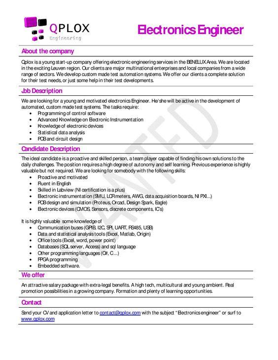 computer engineer job description template