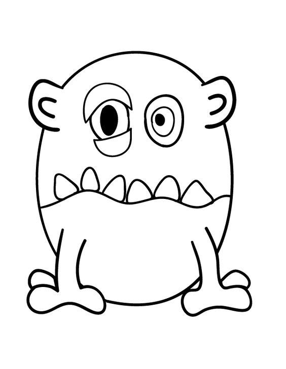 Draw a monster sjove ting pinterest monster und zeichnen