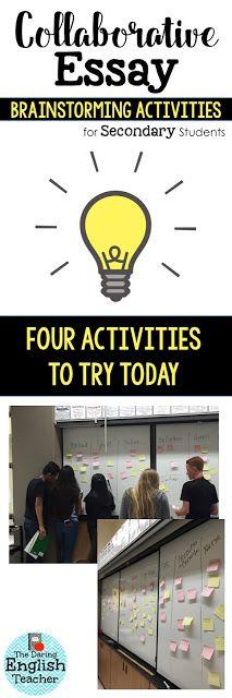 essays about school activities