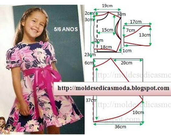 Как сшить самому детское платье