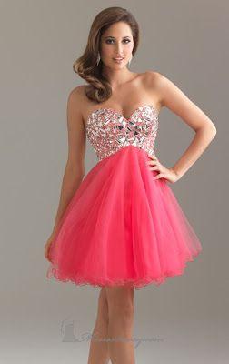 vestidos cortos de noche juveniles
