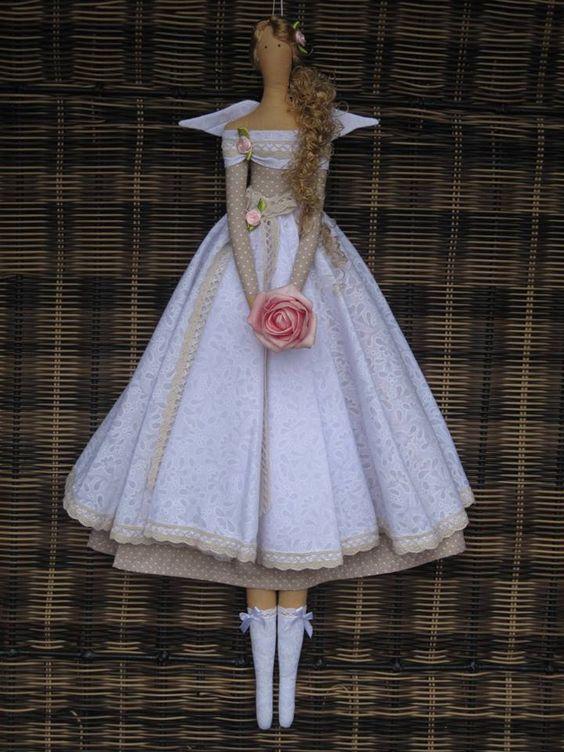 Из чего шьют куклы тильды