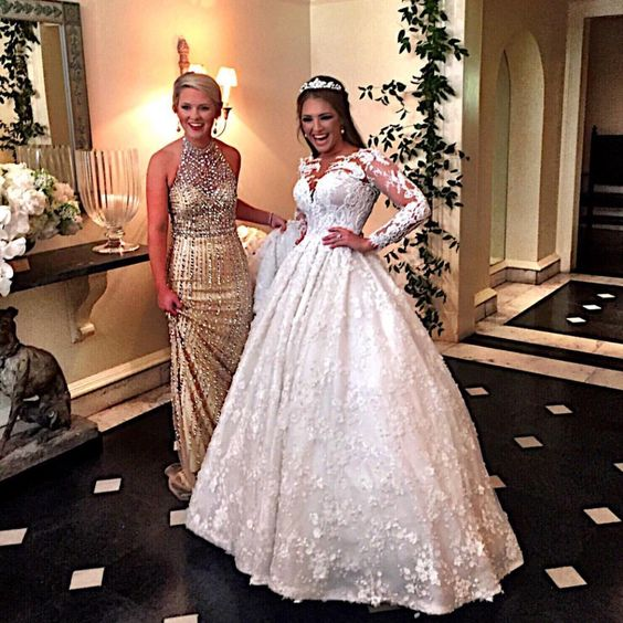 Elegant strapless wedding dresses