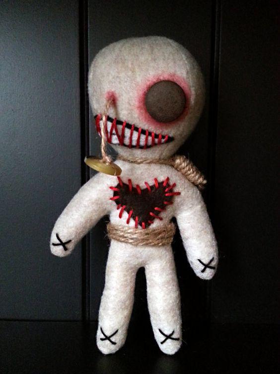Как сделать куклу вуду в домашних условиях на себя