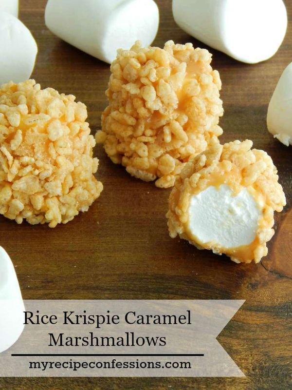 Stop looking through all your recipes, because this Rice Krispie Caramel Mashmallow is the only easy desserts recipe you will need this summer! You can even serve it as an appetizer at you barbecue.