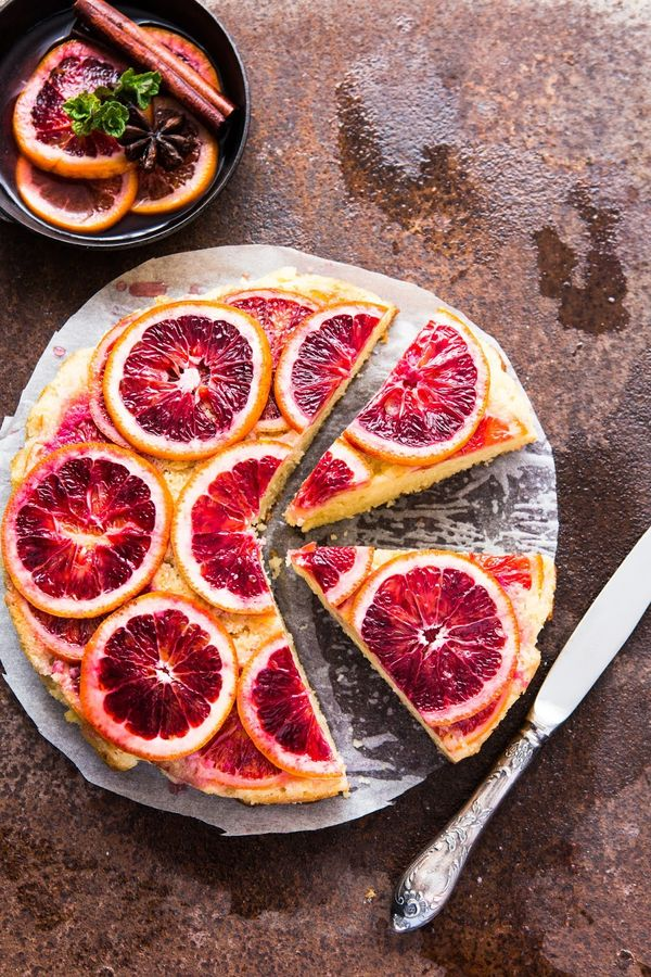 Blood Orange Upside Down Cake | Multiculti Kitchen