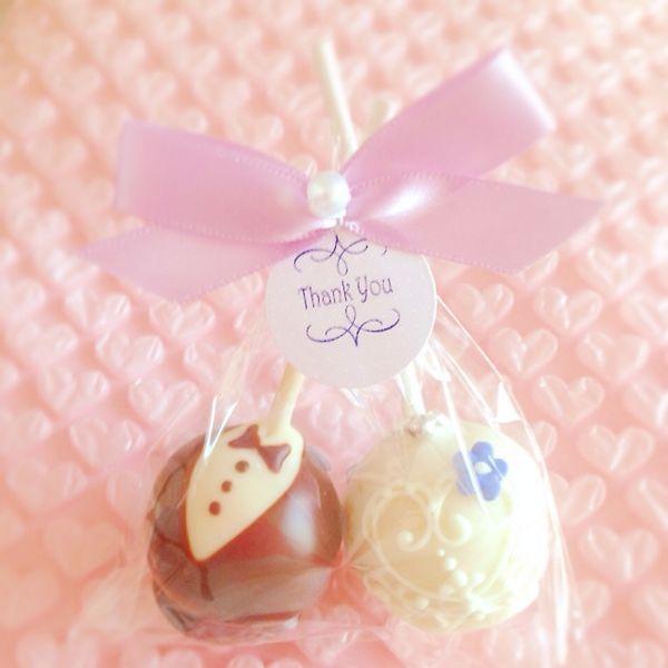 プチギフト*ケーキポップ | ペコリ by Ameba - 手作り料理写真と簡単レシピでつながるコミュニティ -