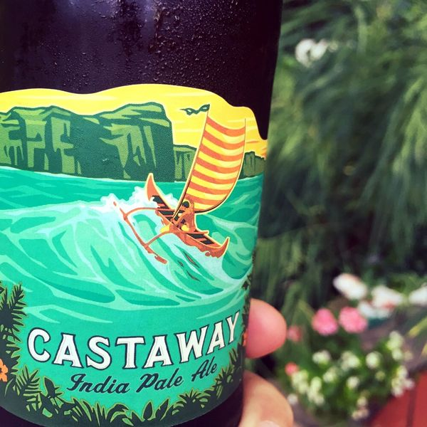 Castaway IPA by Kona Brewing Company