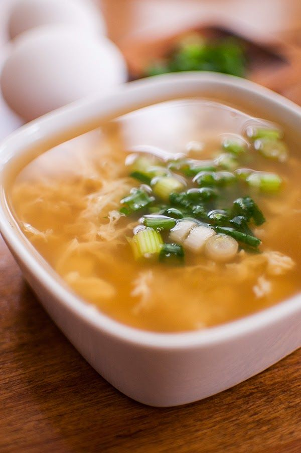 Egg Drop Soup for one!