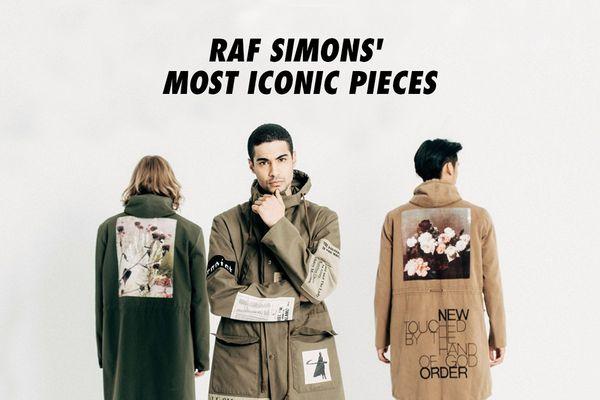 RAF SIMONS(ラフシモンズ)の、モードの枠に囚われないリミックス感覚と再構築
