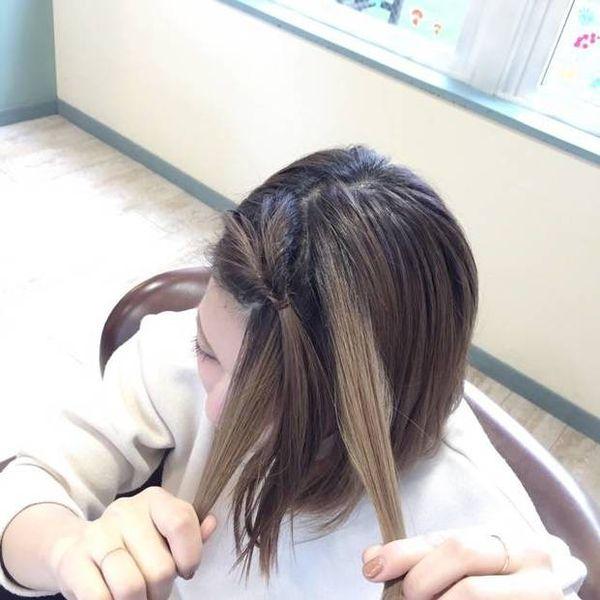 伸ばしかけに救世主現る!「前髪くるりんぱ」が可愛くて使える♡