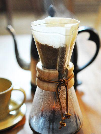 欲しい!ケメックスのコーヒーメーカーがシンプルでナチュ可愛い♪