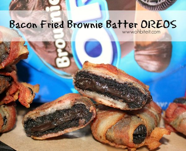 Bacon Fried Brownie Batter OREOS!