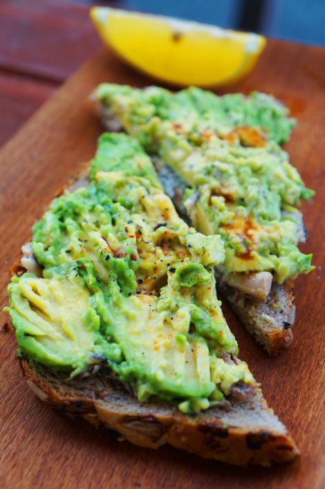 Sardine and Avocado Toast from @Cured By Bacon
