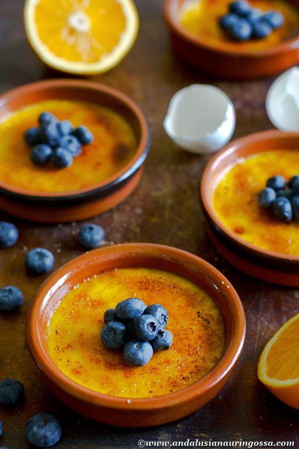 Under the Andalusian Sun food blog: Crema catalana al naranja
