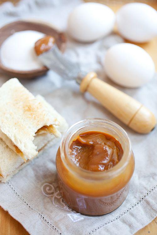 Kaya (Malaysian Coconut Egg Jam) + Kaya Toasts