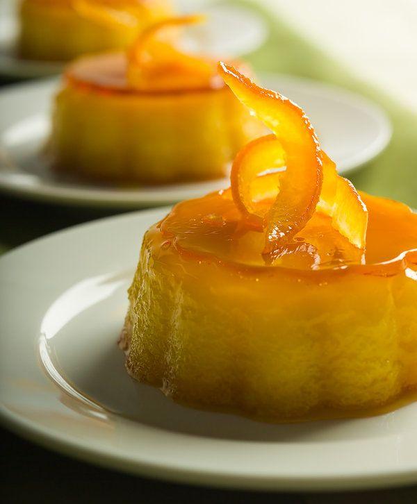 Recipe: Orange-almond flan || Photo: Francesco Tonelli for The New York Times