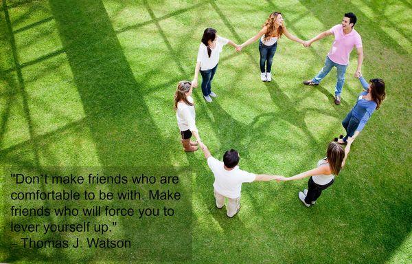 """Don't make friends"