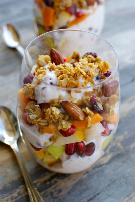 Cranberry Yogurt Parfaits - Eating Made Easy