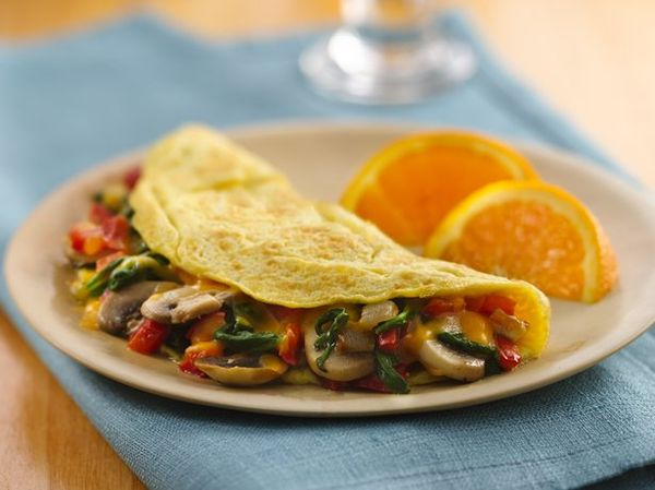 Need an egg dish for breakfast? Make these veggie stuffed omelet that's ready in just 15 minutes.