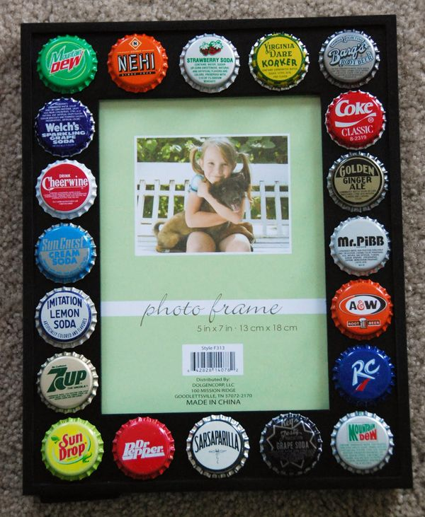 i'm so doing this with all the bottle caps i saved from new zealand