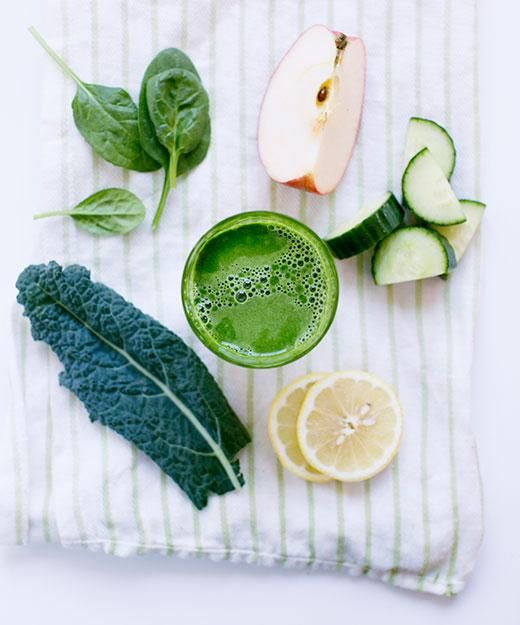Green Lemonade - A delicious burst of citrus and greens from Joe Cross' book Reboot with Joe. - From Evolution Fresh