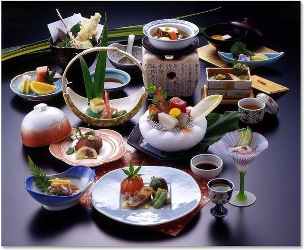 日本料理の盛り付け。けん、つま、あしらい、飾り切り。 - 雑記帳