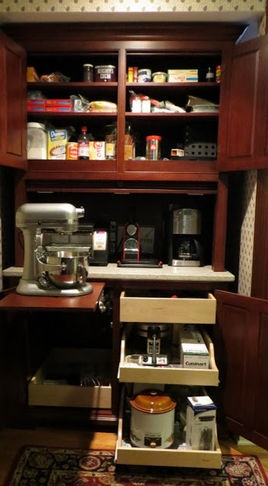 Pantry: add shelves