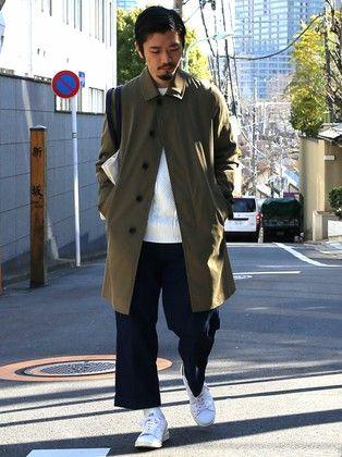 30代メンズにおすすめのこなれたファッション11:ライトアウターを着こなす