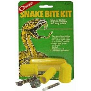 Snakebite kit on clit